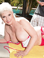 60 Plus MILFs - 66-year-old Jewel and her son's 34-year-old friend - Jewel (44 Photos)