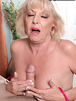 60 Plus MILFs - A creampie for grandma - Scarlet Andrews (36 Photos)