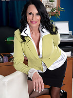60 Plus MILFs - The ass-fucked boss is named Rita Daniels - Rita Daniels (57 Photos)