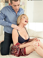 50 Plus MILFs - A mouthful for Amy - Amy (54 Photos)