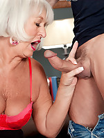 60 Plus MILFs - Jeannie Lou's DP sandwich - Jeannie Lou (46 Photos)