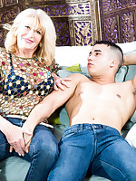 50 Plus MILFs - Hard cock for the cockahaurus - Kendall Rex (43 Photos)