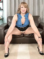 50 Plus MILFs - Catrina fucks her best friend's son - Catrina Costa (25 Photos)