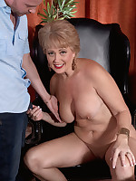 50 Plus MILFs - Red-hot for cock - Tracy Licks (46 Photos)