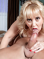50 Plus MILFs - Rebecca loves a hard pecker - Rebecca Williams (46 Photos)